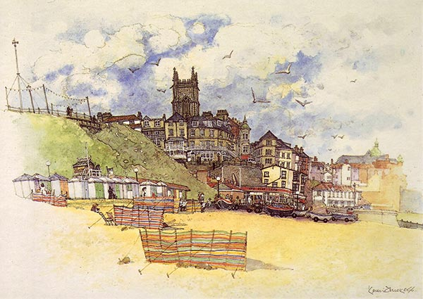 Cromer, 1986, Greeting Card by Keith Thickett - Thumbnail