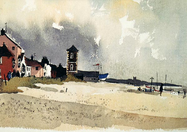 Aldeburgh, Greeting Card by John Tookey - Thumbnail