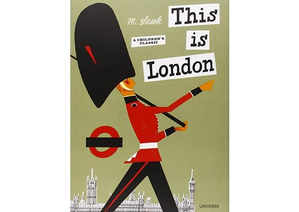 This is London, Greeting Card by Miroslav Sasek - Thumbnail