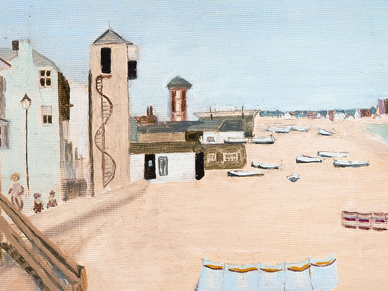 Aldeburgh Beach, August, Greeting Card by Susanna Stanley - Featured on Mobile Devices
