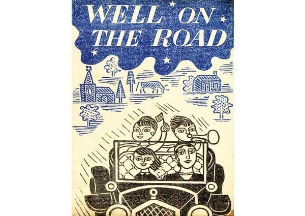 Well on the Road, Greeting Card by Edward Bawden - Thumbnail