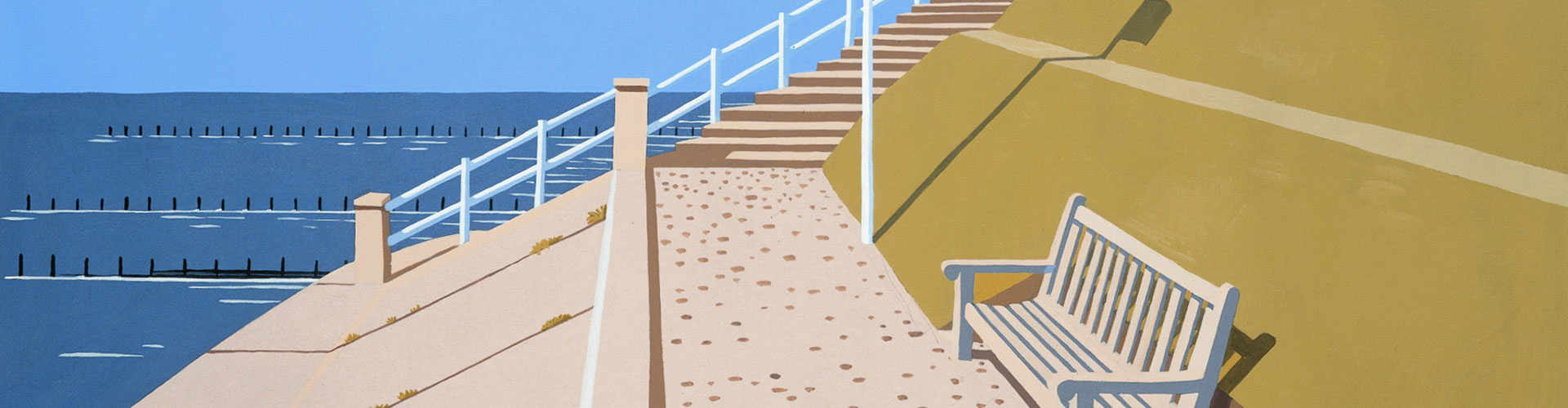 Southwold, Suffolk, Greeting Card by David Kirk - Featured on Desktop Devices