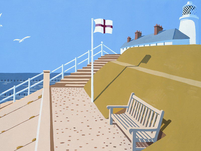 Southwold, Suffolk, Greeting Card by David Kirk - Featured on Mobile Devices