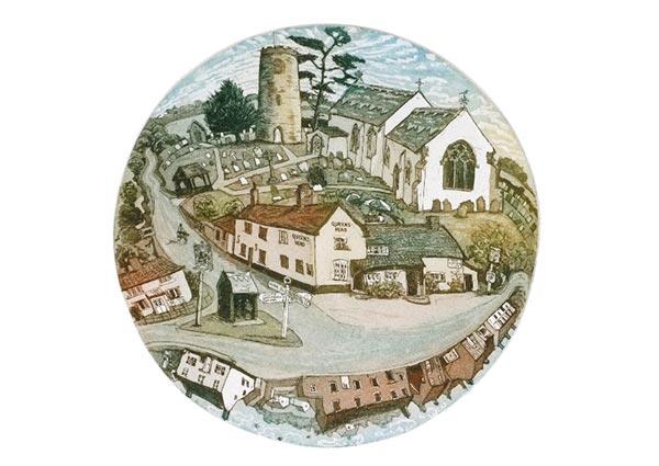 Bramfield, Suffolk, Greeting Card by Glynn Thomas - Thumbnail
