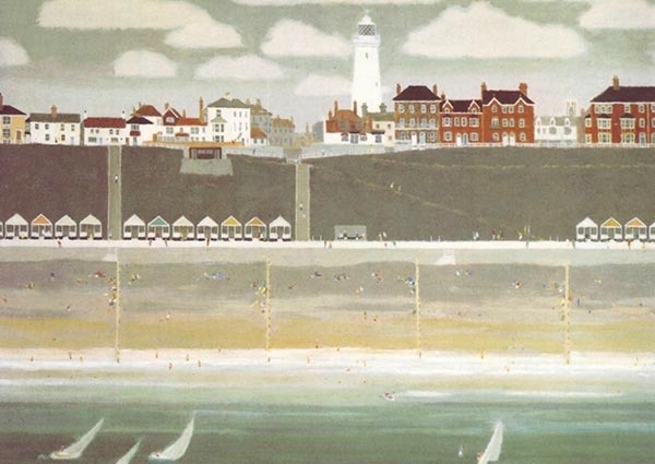 Southwold, Greeting Card by Ronald Rutherford - Thumbnail