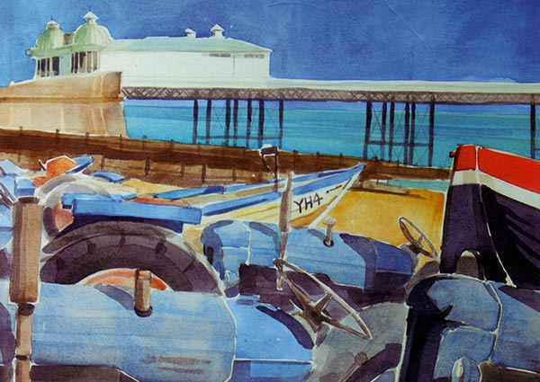 Cromer, Greeting Card by Andrew Haslen - Thumbnail