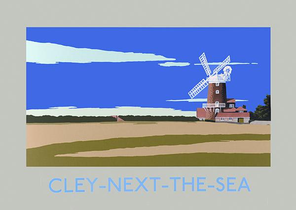Cley-Next-The-Sea, Greeting Card by David Kirk - Thumbnail