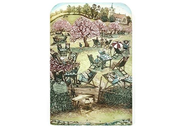 Time for Tea, Greeting Card by Glynn Thomas - Thumbnail