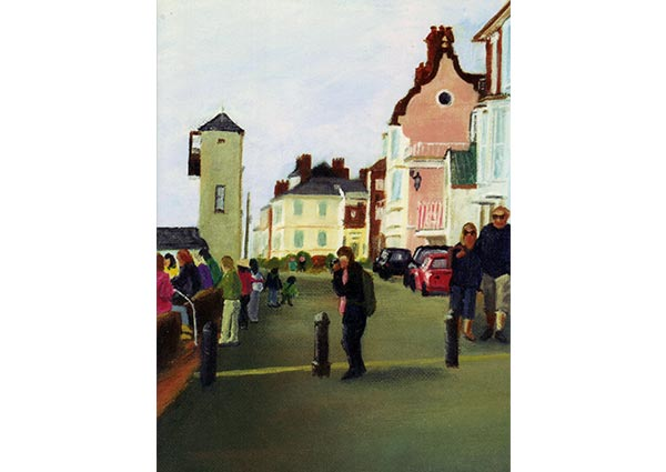 Aldeburgh, Greeting Card by James Cairns - Thumbnail
