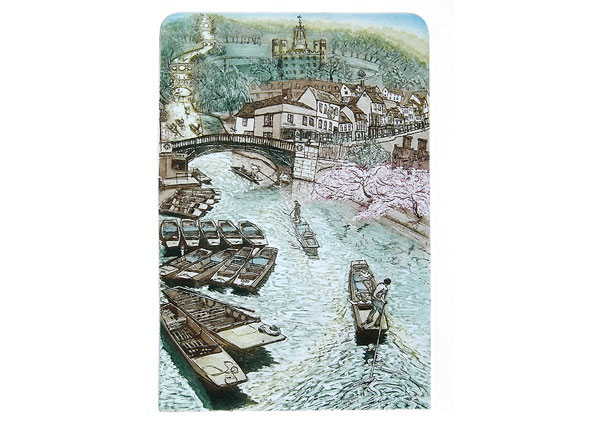 On the Cam, Greeting Card by Glynn Thomas - Thumbnail